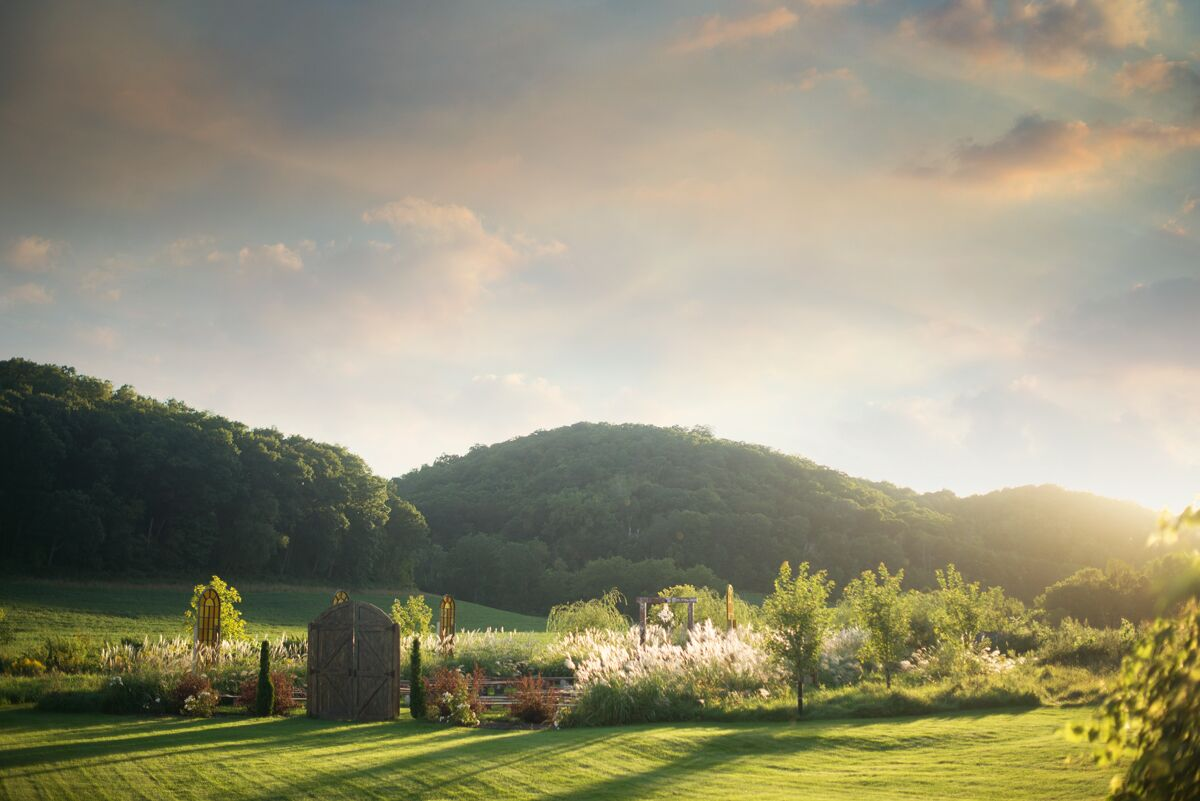 The Hidden Meadow And Barn Reception Venues Pepin Wi