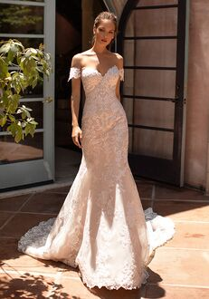 Moonlight Couture H1421 Mermaid Wedding Dress