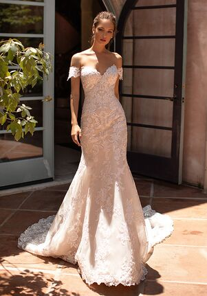 Moonlight Couture H1421 Mermaid Wedding Dress