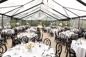 Elegant Clear-Tent Reception