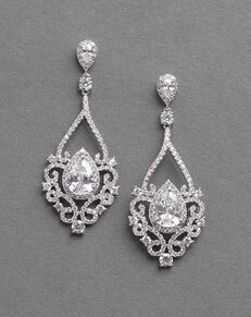 Dareth Colburn Charlese CZ Earrings (JE-7087) Wedding Earring photo