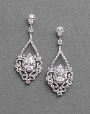 Dareth Colburn Charlese CZ Earrings (JE-7087) Wedding Earring photo