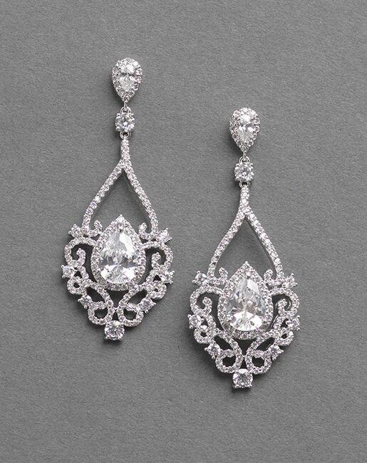 Dareth Colburn Charlese CZ Earrings (JE-7087) Wedding Earrings photo