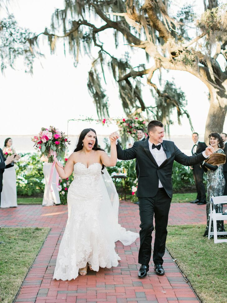 Ceremony Recessional at The Adams Estate in Lake Alfred, Florida