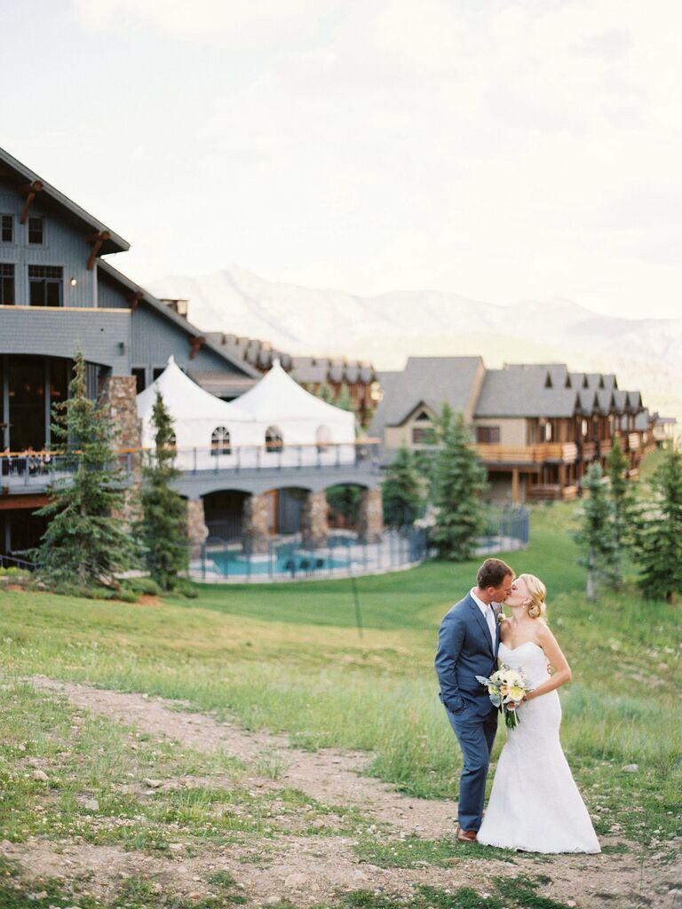 Montana wedding venue in Big Sky, Montana.