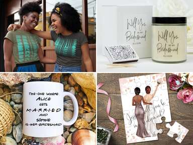 Bridesmaid proposal gift and card ideas