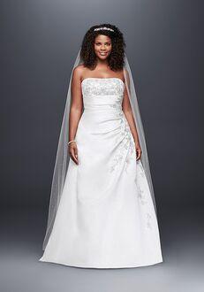 David's Bridal David's Bridal Collection Style 9V9665 A-Line Wedding Dress