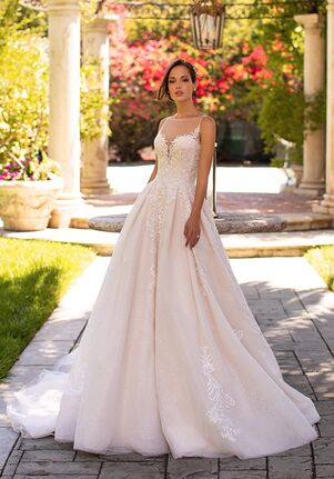 Moonlight Couture H1425 Ball Gown Wedding Dress