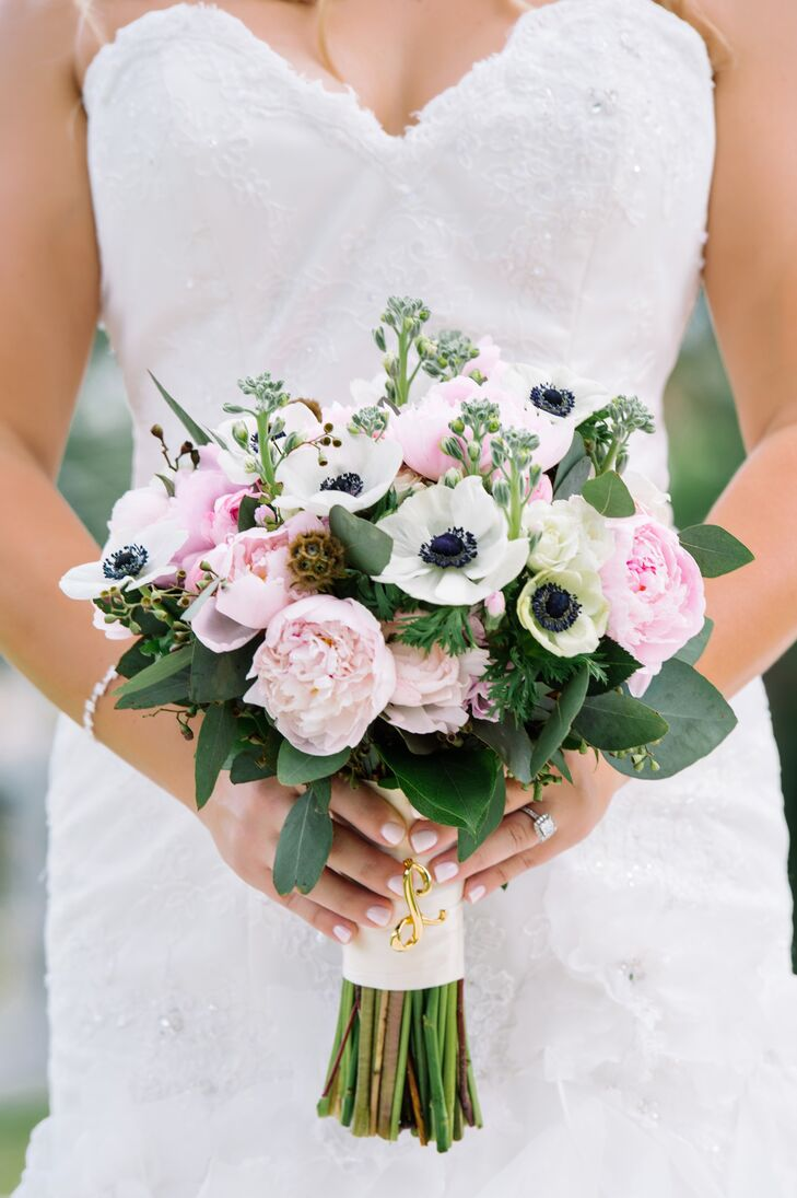 Peony Ranunculus And Anemone Bridal Bouquet