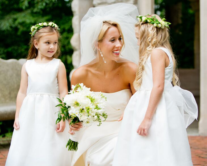 Whimsical A-Line Flower Girl Dresses