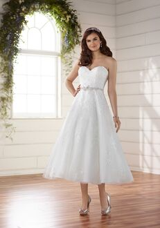 Essense of Australia D2231 A-Line Wedding Dress