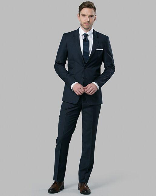 Menguin Navy Suit Blue Tuxedo