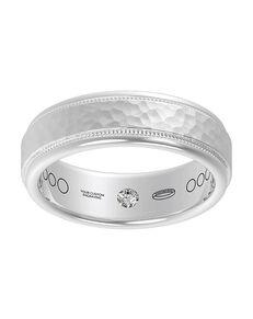 Everband 7 mm Hammered Gold, Rose Gold, White Gold, Platinum Wedding Ring
