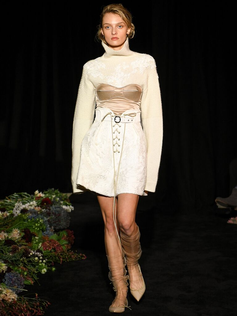 Two-Piece Wedding Dress Danielle Frankel