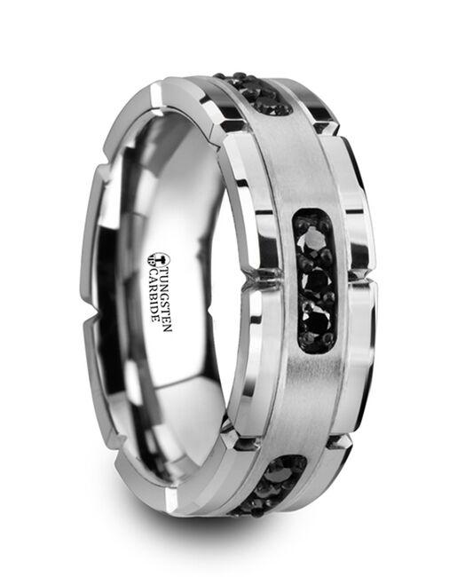 Mens Tungsten Wedding Bands 4469-TCBD Tungsten Wedding Ring