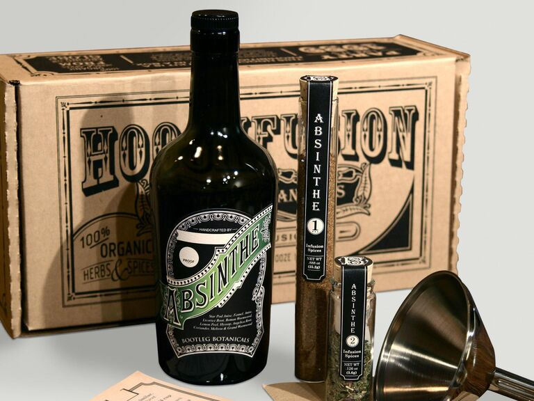 DIY absinthe kit best man gift idea