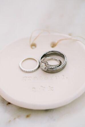 Vintage-Inspired Princess-Cut Diamond Ring