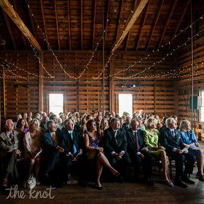Intimate Barnyard Ceremony at Laudholm Farm