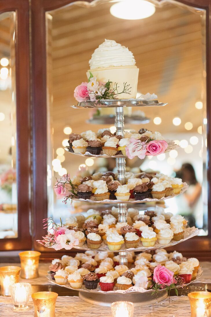 Assorted Mini Cupcake Tower