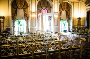 Elegant Langham Hotel Wedding Ceremony