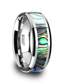 Mens Tungsten Wedding Bands W759-TMOP Tungsten Wedding Ring