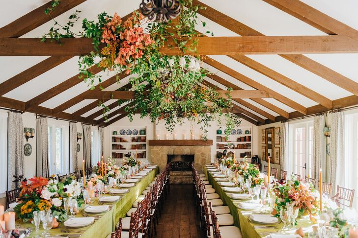 Bohemian, Garden-Inspired Reception