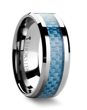 Mens Tungsten Wedding Bands W354-BUCF Tungsten Wedding Ring
