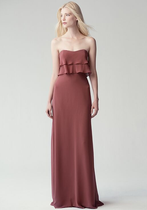Jenny Yoo Collection (Maids) Olivia #1783 Strapless Bridesmaid Dress