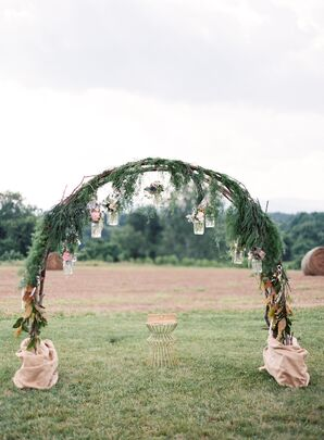 Arch Covered in Greenery