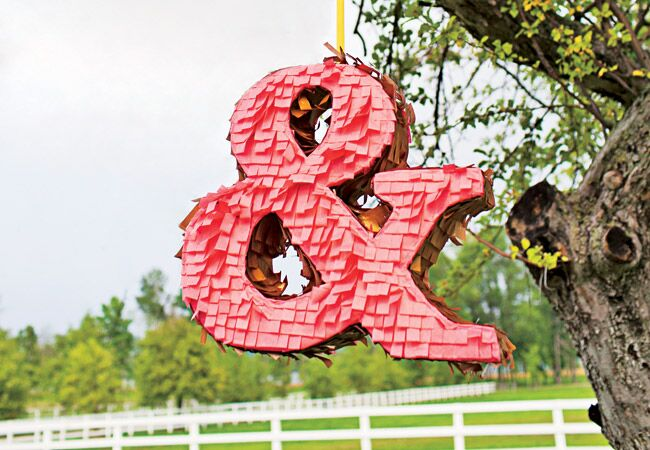12 Wedding Pinatas We're Obsessed With