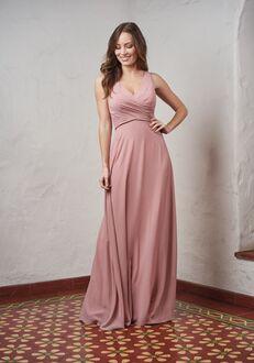 JASMINE P216064 V-Neck Bridesmaid Dress