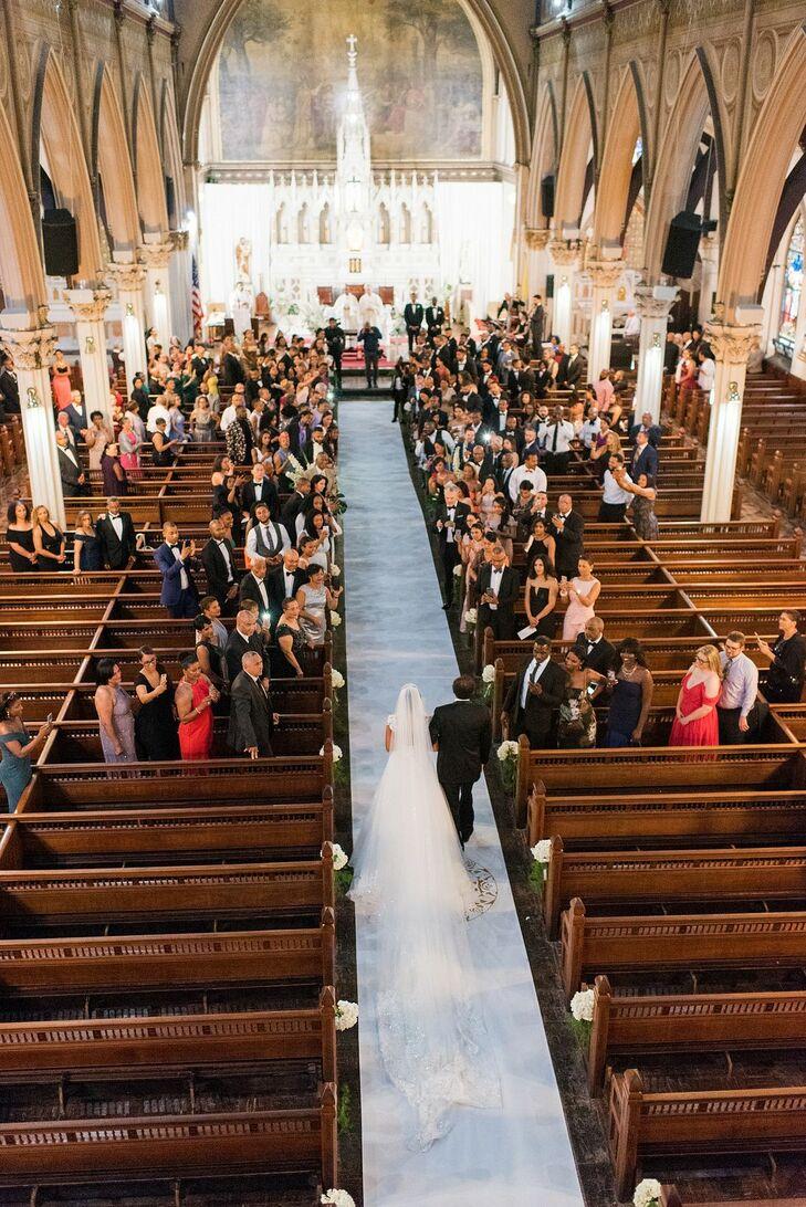 Church Ceremony in Boston, Massachusetts