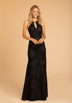 Hayley Paige Occasions 52019 Halter Bridesmaid Dress