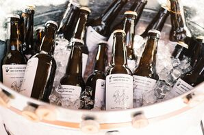 Custom-Brewed Beer with Personalized Labels