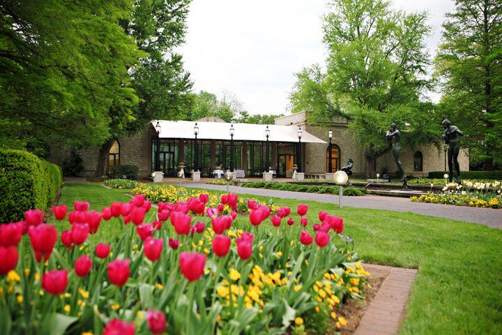 Spink Pavilion At Missouri Botanical Garden St Louis Mo