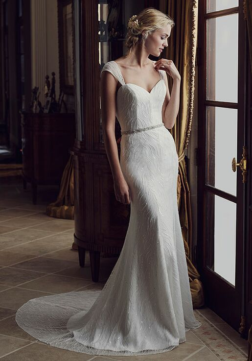 Casablanca Bridal 2238 Poppy Sheath Wedding Dress