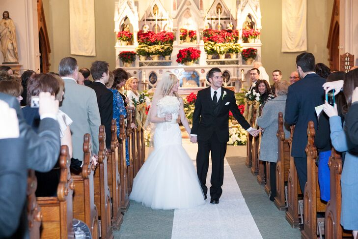 Julie and Ricky Church Wedding Ceremony Recessional