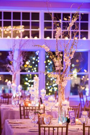 Modern Ballroom Wedding Reception Decor