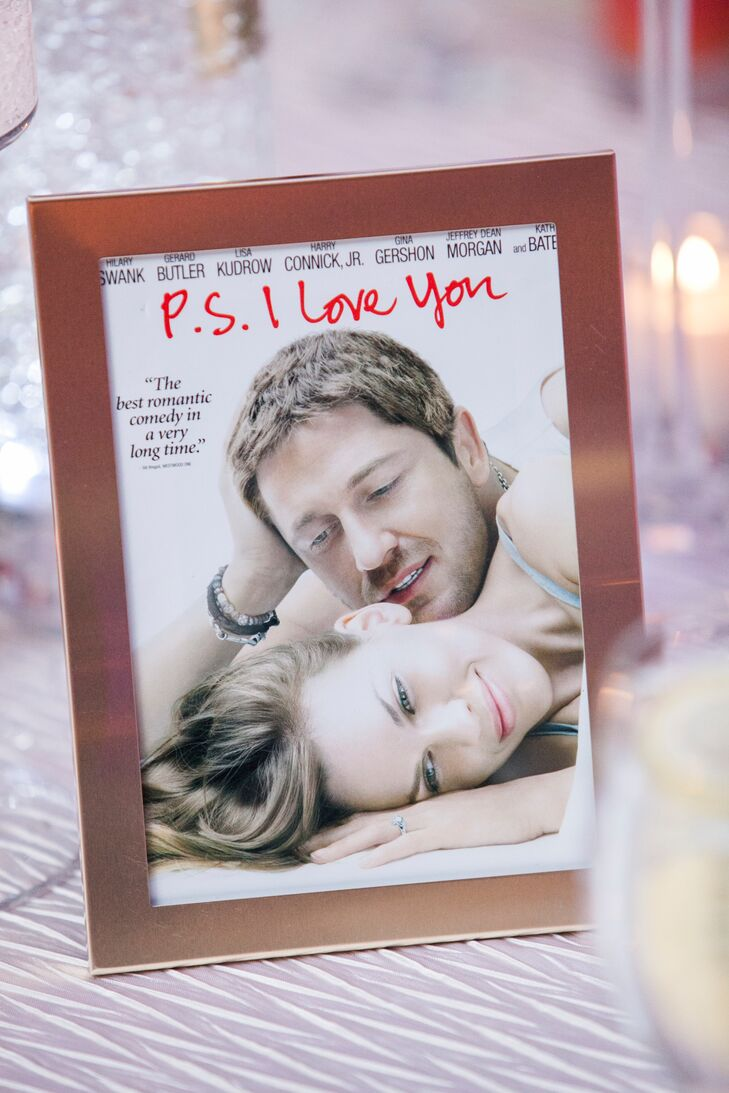 P.S. I Love You DVD Table Number