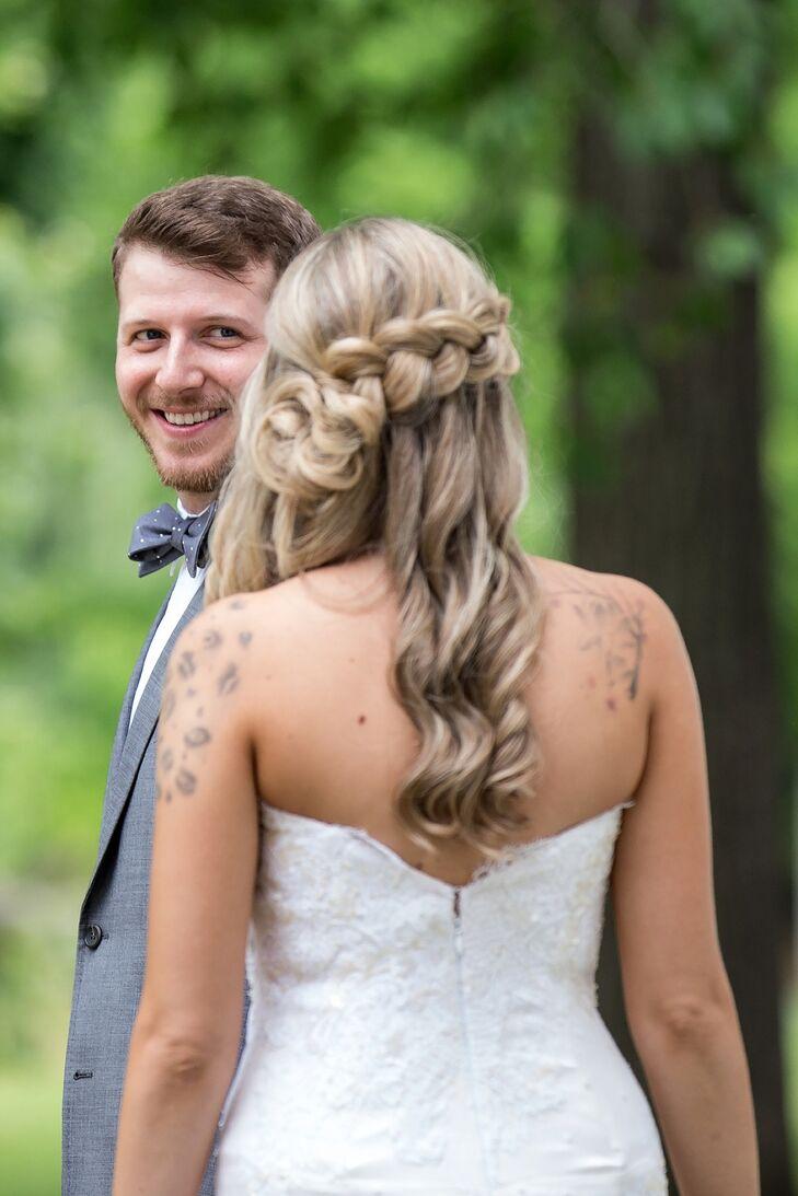 Alternative Braided Bridal Hairstyle