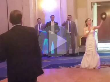 New Father-Daughter Dance Idea? Playing a Game of Catch. [Video]