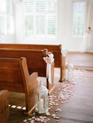 Simple, Sweet Wedding Ceremony Decor