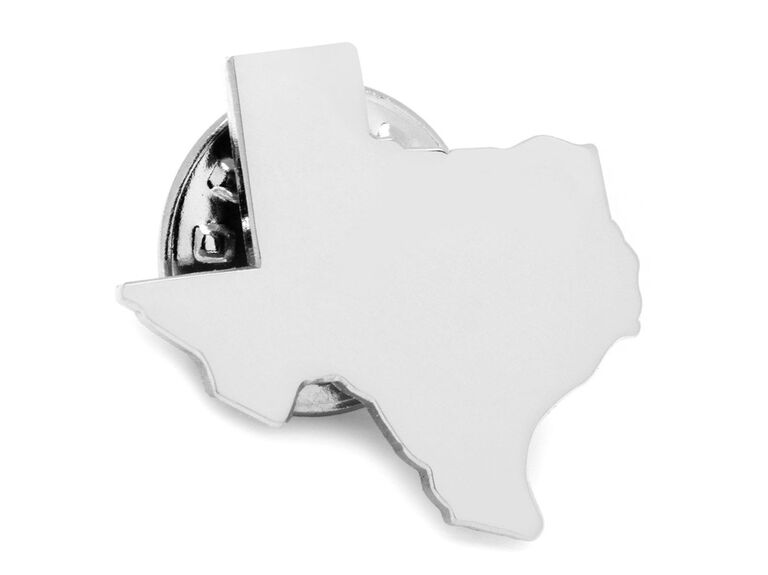 Texas lapel pin unique groomsmen gift