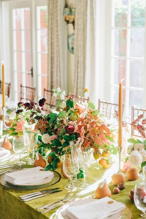 Elegant,  Bohemian-Inspired Dinner Tables