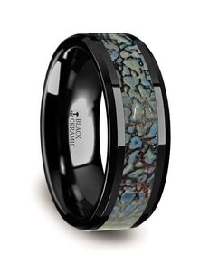 Mens Tungsten Wedding Bands C314-TCDB Tungsten Wedding Ring