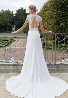 Aire Barcelona NALA Sheath Wedding Dress