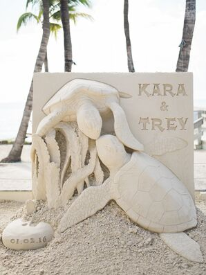 Custom Ceremony Sand Sculpture