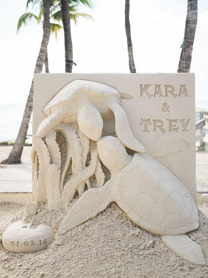 Custom Ceremony Sand Sculpture