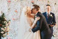 """Alana Rock and Clair Henderson had a classic wedding with touches of modernity. """"For the most part, our wedding was traditional, but we also wanted o"""