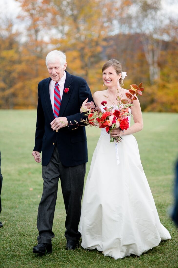 Traditional Bride and Father Processional